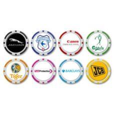 Marque de balle jeton de poker 40mm Monaco avec logo doming sur 1 côté