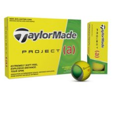 Balle de Golf Jaune Taylormade Project (a)