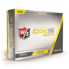 Balle de Golf Wilson Dx2 Soft Jaune