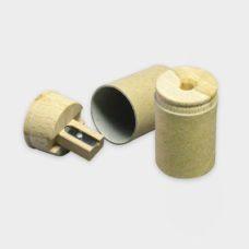Card Pencil Sharpener - taille-crayons en carton et bois certifiés durable