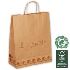 Petit sac magasin certification FSC