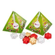 Boîte cadeau de Noël – 8 chocolates étoile