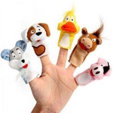 Marionettes pour doigts sur mesure