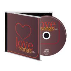 CD_DE_MUSIQUE_LOVE_SONGS_ONE_PUBLICITAIRE | PRODUITS HIGH-TECH  | CASQUES PERSONNALISÉS