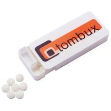 Boîte Slipcase avec pastilles à la menthe