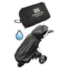 Housse de pluie noire avec poche intégrée