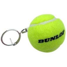 Porte-clefs balle de Tennis Dunlop