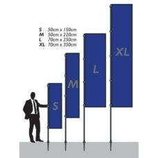 Bannière Pillier M 50x220cm