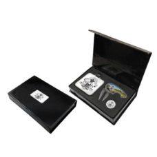 Boite cadeau Brecon avec fermeture aimantée avec etiquette pour sac Elite
