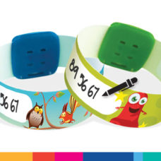 Bracelets réutilisables ID Kids 195mm x 21 mm
