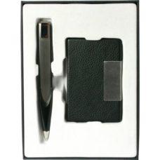 Assortiment stylo + porte-cartes