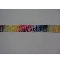 Bracelets en satin avec bague de serrage pour manifestations