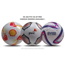 Ballon de foot SB 360 PVC 6P FREE