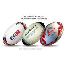 Ballon de rugby RB 5 HS PU-PVC 6P FREE