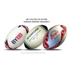 Ballon de rugby RB 3 HS PU-PVC 6P FREE