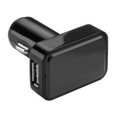 CHARGEUR_VOITURE_USB_REFLECTS_KOSTROMA_BLACK_PUBLICITAIRE | PRODUITS HIGH-TECH  | CLÉS USB PERSONNALISÉES