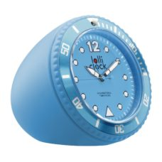HORLOGE_LOLLICLOCK_ROCK_LIGHT_BLUE_PERSONNALISE | HORLOGERIE PUBLICITAIRE | HORLOGES PERSONNALISABLES