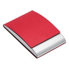 PORTE_CARTES_DE_VISITE_REFLECTS_VANNES_RED_PERSONNALISE | GADGETS & GOODIES PUBLICITAIRES  | ETUIS PUBLICITAIRES