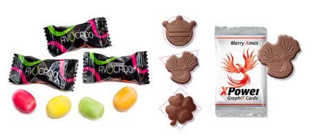 Bonbon Chocolat Confiserie Personnalisable Publicitaire