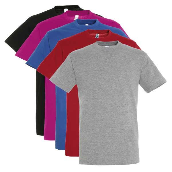 T Shirt Personnalisable Homme Couleurs Regent